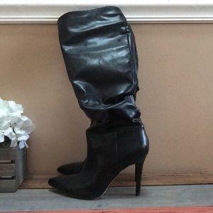 Jessica Simpson Saferra leather heeled boots